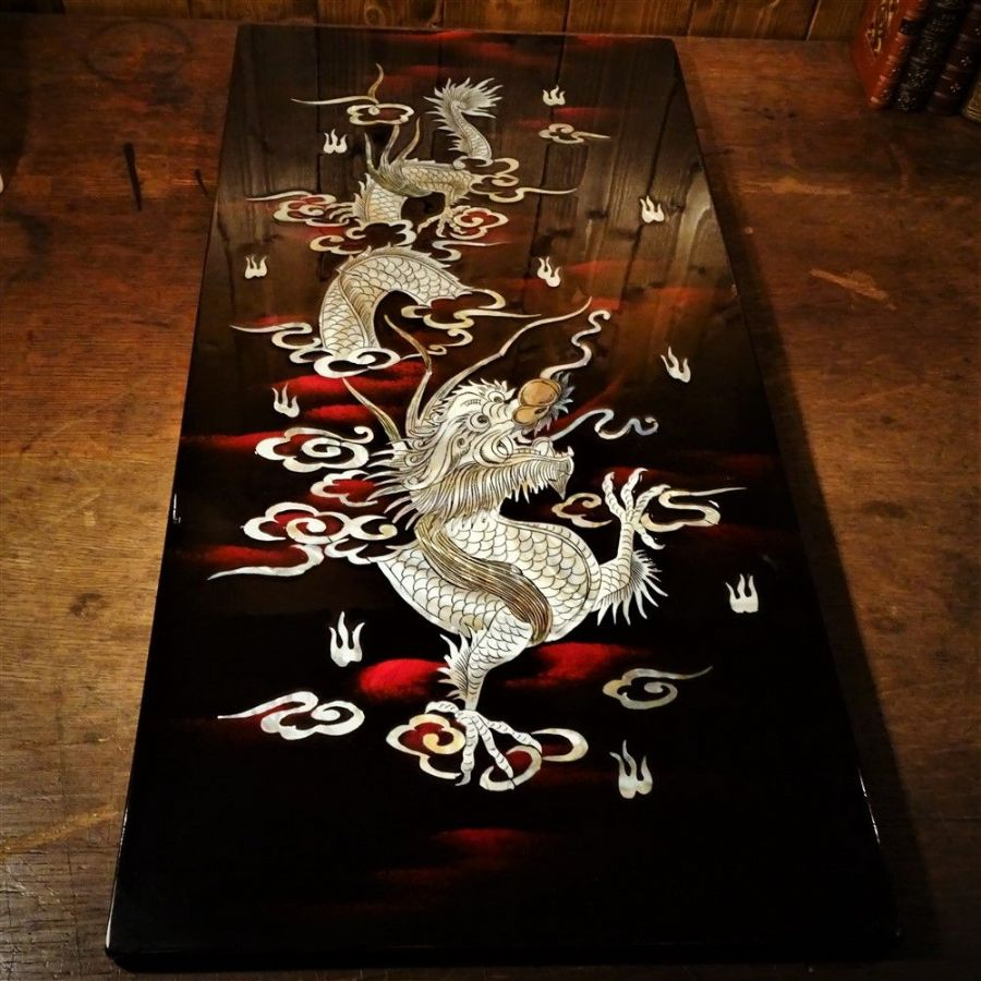 Vietnamese Laquerware Dragon Picture